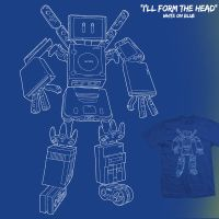 I'll Form The Head - tee by InfinityWave
