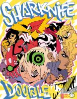 Sharknife Double Z Print-o by reyyyyy