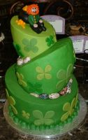 St. Patrick's Day cake by Kahlan4