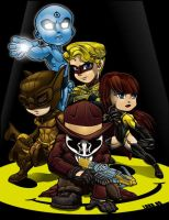 Lil Watchmen by lordmesa