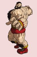 Zangief by shadowstheater
