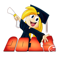 2013 Graduation Reminder by Piranhartist