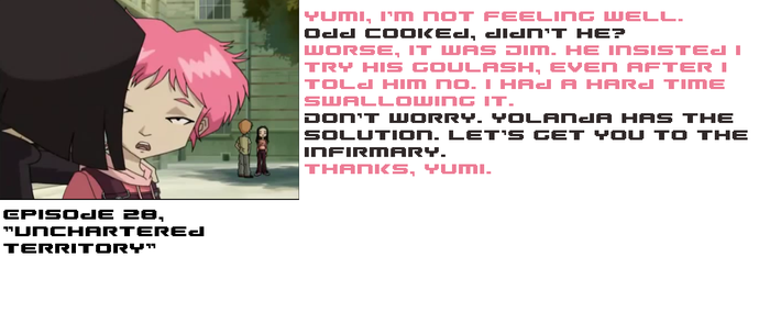 Attack of the Fan Caption 16 Jim's a bad Cook by Teen-Lyoko-Fan7777