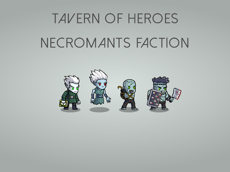 Necromants faction by KirillKoshurnikov