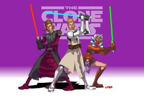 Star Wars Clone Wars fan art by jasinmartin