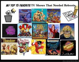 Top 13 Favorite Tv Shows That Needed Reboots Meme  by theaven
