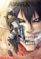 Shingeki no kyojin by MicehellWDomination