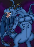 Blue Dragon by HarusameKitteh