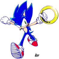 Sonic  project20- first try.. by Auroblaze