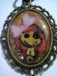 creepy cute doll pendant by frenci97xp