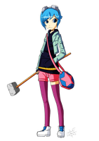 Collab - Ramona Flowers by MTC-Studios