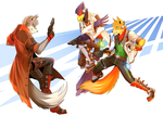 Starfox: Old Rivals by Spectrum-VII