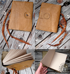 Another Leather Notebook (Available on Etsy) by Nymla