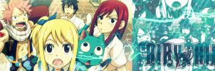 Fairy Tail Banner by papanchi