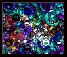 Colored Balls Collection 2 by kanes