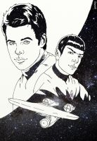 Star Trek BW by Damon1984