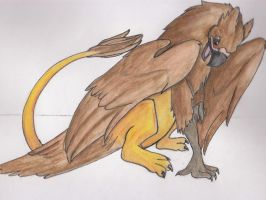 Griffin by Dragon-of-Rivendell