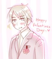 Happy Valentines Day from Prussia by A-Yuri
