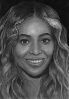 Beyonce Pencil Portrait (Re-Upload) by chong-yi