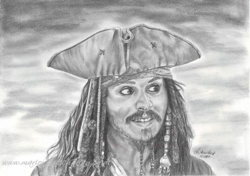 Where's the rum by WitchiArt
