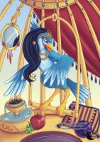 In a Gilded Cage by ebonydragon