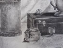still life by KittyNamedAlly