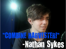 Nathan Sykes-Combvine Harvester by Tiernz
