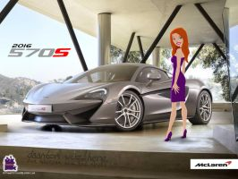 Marlowe and the McLaren 570S.... by daanton