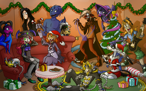 Christmas collision 2012 by Retromissile