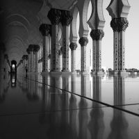 Reflections at Grand Mosque - Abu Dhabi by ZBR-DesignFactory