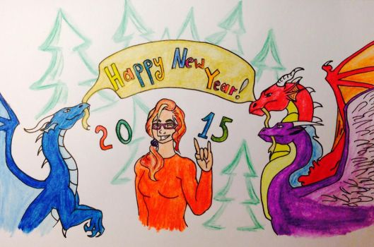 Happy New 2015 Year!!!=D by Venus140598