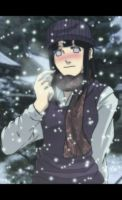 hinata in snow by Nishi06