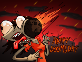 Happy Doooooooomsday by Ugovaria
