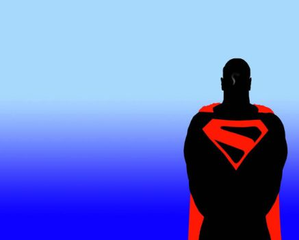 superman wallpaper by dixonchatt