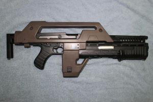 M41A Pulse Rifle (1 of 3) by sabresteen