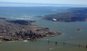 San Francisco From Above by SweediesArt
