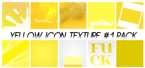 Yellow Icon Texture #1 by RavenLSD
