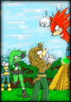 Dont play joke on knuckles 2 by GreenBlood12354