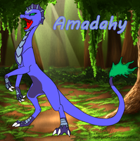 Amadahy the dragon by millemusen