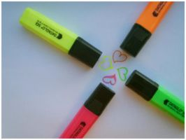 Highlighters by Red--Roses
