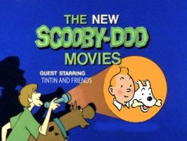 Scooby Doo meets Tintin by TandP