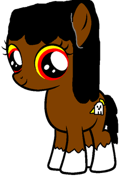 Pippin\' as a pony by JeannieHobbes