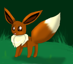 Cute Little Eevee by KendraTheShinyEevee