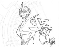 Arcee - Transformers Prime by yukinyon