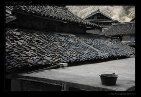 China Rooftops - alwaysTidy by tisbone