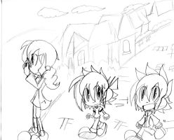 Aaron: take a stroll down town sketch by Armonsterz