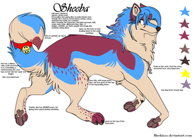 Sheeba reference update by Huskieee