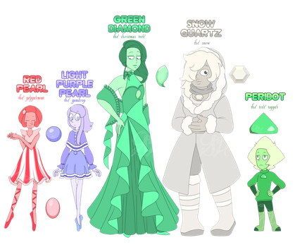 Holiday Gem Adopts (CLOSED) by OriSODEhime