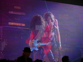 Steven Tyler and Joe Perry by EscapeFromWonderland