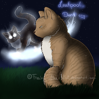 Leafpool...Dont cry... by Freaky--Like--Vivi